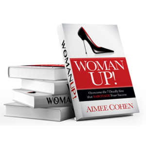 WOMAN UP! Autographed Book